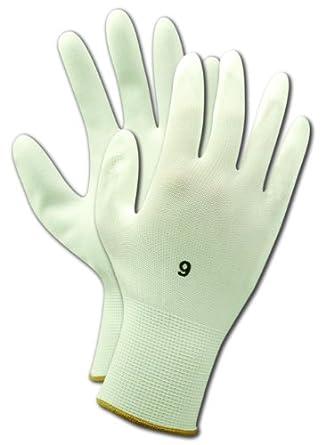 Magid ROC JPS2 Polyester Glove, Polyurethane Palm Coating, Knit Wrist Cuff
