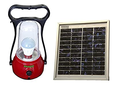 Waaree Sunglow Solar Lantern (With Solar Panel)