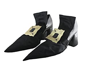 Girls Witch Shoe Covers by Forum Novelties Inc