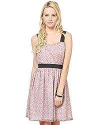 Besiva Sleeveless Multicolor Dress