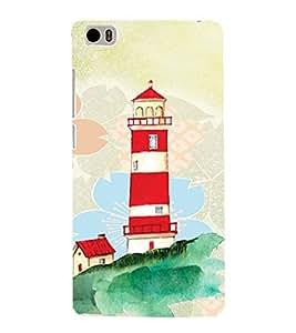 PrintVisa Travel Lighthouse Art 3D Hard Polycarbonate Designer Back Case Cover for Xiaomi Redmi Mi5