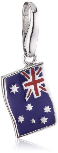 Giorgio Martello female Charm Silver Lucky Flag Australia 566-809119