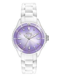 s.Oliver Damen-Armbanduhr XS Analog Quarz Silikon SO-2708-PQ