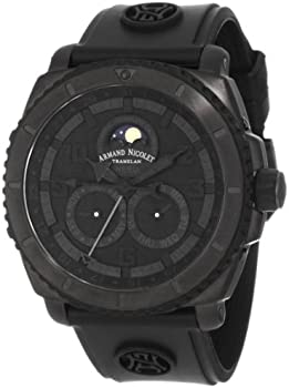 Armand Nicolet Men's Sporty Automatic Titanium Watch