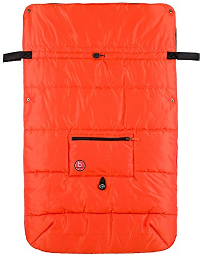 Blue Banana Stroller Blanket - Orange