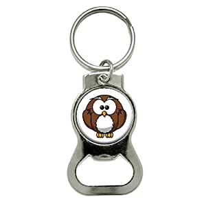 Graphics and More Owl Bottle Cap Opener Keychain (KB0358)