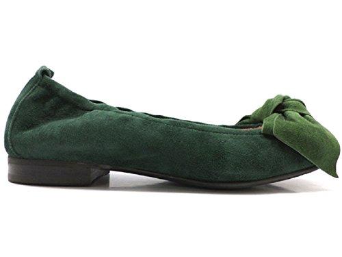 LE BABE AV756 ballerine dona 36 EU verde camoscio
