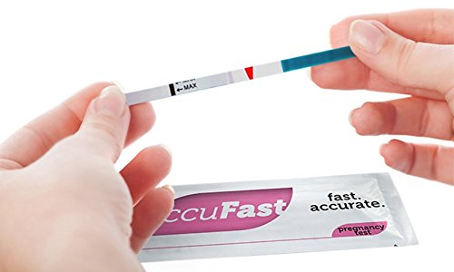 Pregnancy (HCG) Test Strips by AccuFast® - Package of 20 - 1