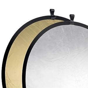 Walimex Pro Faltreflektor (107 cm) gold/silber