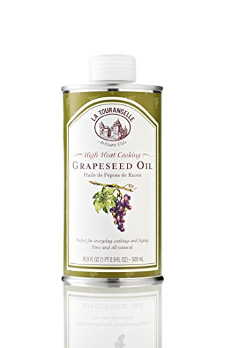 La Tourangelle Grapeseed Oil, 16.9-Ounce Cans (Pack of 3)