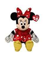 Ty Beanie Buddies Minnie Red Sparkle Medium Plush by Ty Beanie Buddies