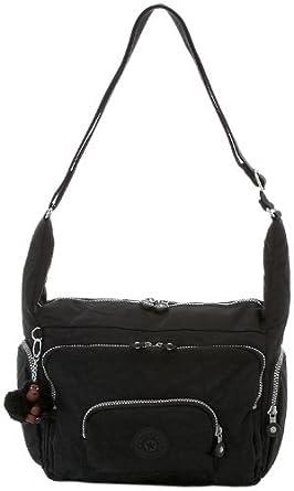 Kipling Europa Crossover Handbag,Black,One Size