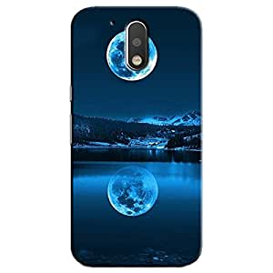 MOON REFLECTION BACK COVER MOTOROLA MOTO G4 PLUS