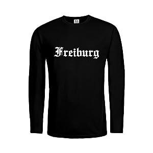 dress-puntos Kids Kinder Langarm T-Shirt Freiburg Schriftzug 20drpt15-ktls00922