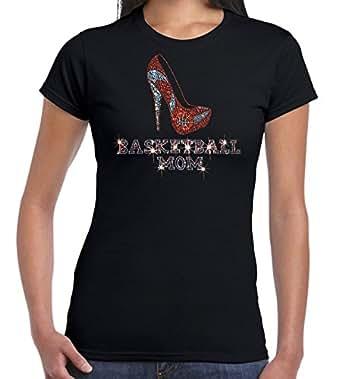 U S Custom Ink Women 39 S Basketball Mom High