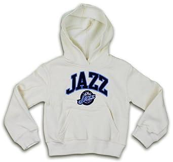 Utah Jazz NBA Girls Pullover Hooded Sweatshirt, 4-16 by NBA