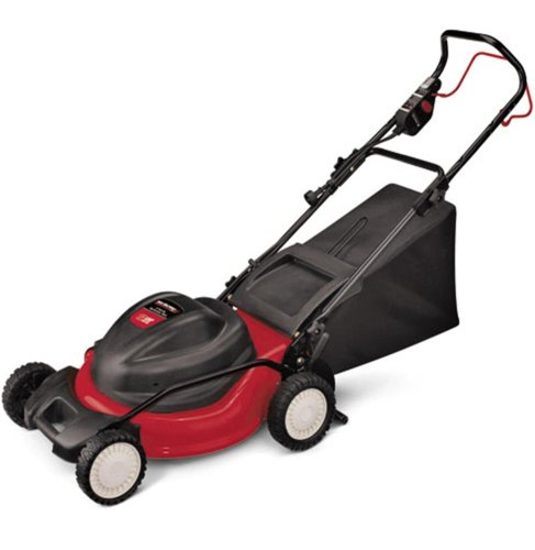 Yard Machines 18A-182-700 19-Inch 12 Amp Electric Powered Side Discharge/Mulch/Bag Lawn Mower picture