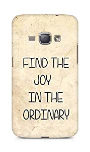 AMEZ find the joy in the ordinary Back Cover For Samsung Galaxy J1 (2016 EDITION)