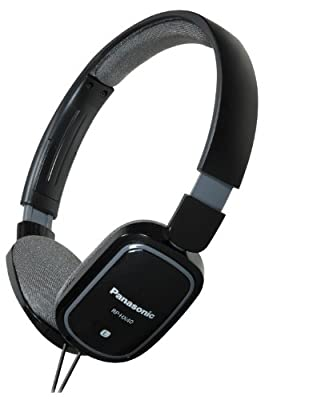 Panasonic RP-HXC40 Light Weight On Ear Monitors w/iPhone Controller