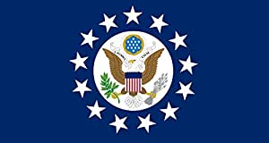 Ambassadors of the United States Drapeau 20x30cm pour Diplomat-Flags Drapeau de Voiture