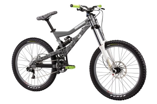 Mongoose Boot'r Apprentice gray grey (2011) (top tube length: 61.5 cm) downhill full suspension