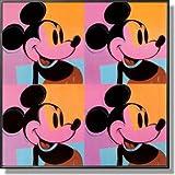 アンディ・ウォーホル  *ミッキー・マウス  【ポスター+フレーム】