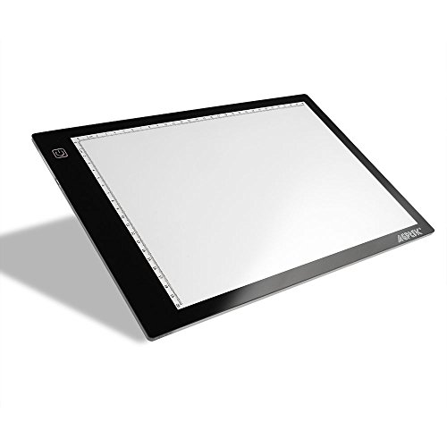 Tracing-Light-Box-AGPtek-17A4-Size-LED-Artcraft-Tracing-Light-Pad-Light-Box-For-ArtistsDrawing-Sketching-Animation