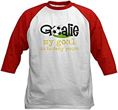 CafePress Kids Baseball Jersey - My Goal Kids Baseball Jersey