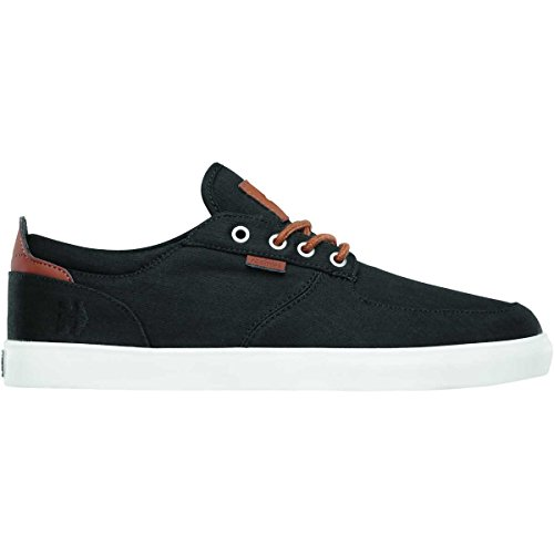 Etnies Men's Hitch Lace Up, Black/Brown, 9 D US
