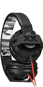 JVCケンウッド ビクター オンイヤー ヘッドホン HA-S4X