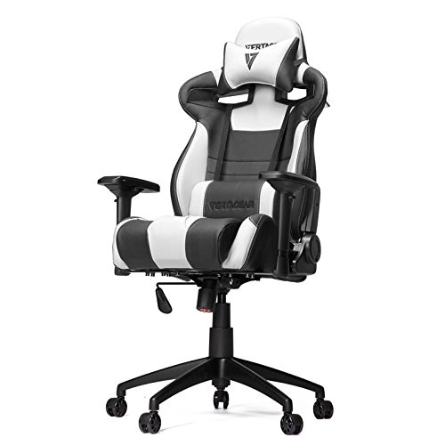 Vertagear Racing Series S-Line SL4000 Gaming Chair White and Black