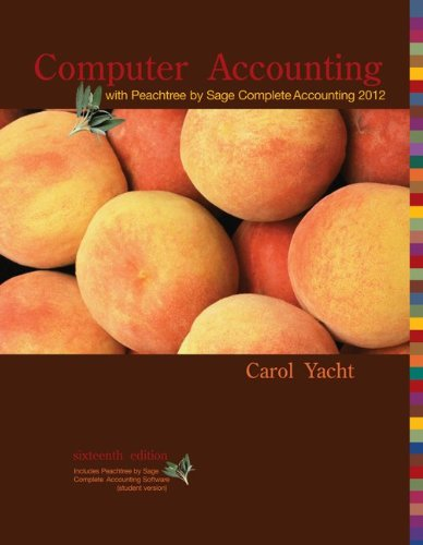 Computer Accounting  Peachtree Complete by Sage