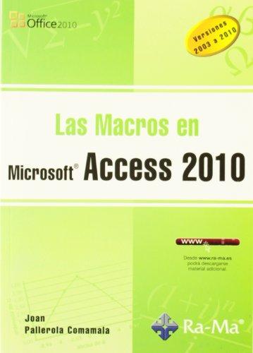 Comparamus Macros En Microsft Access 2010