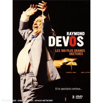 devos-raymond-les-100-plus-grands-sketches-francia-dvd