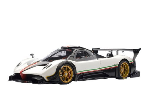 pagani-zonda-r-white-italian-stripe-by-autoart