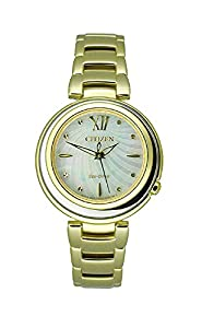 Citizen Women's EM0334-54D Citizen L Sunrise Analog Display Japanese Quartz Gold Watch