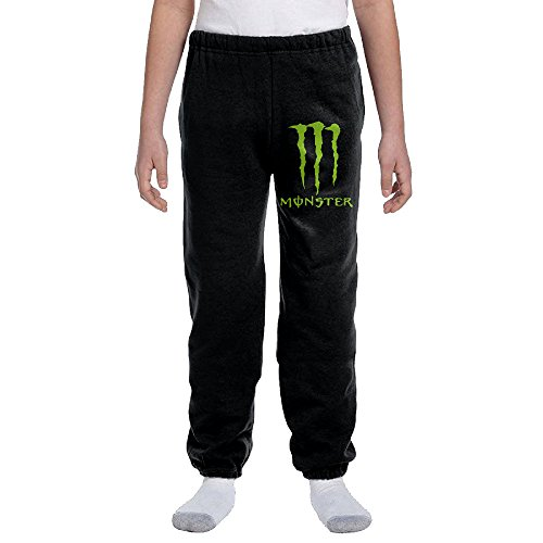 Kids Hans Energy Drink Monster Energy M Logo Sweatpants (Monster Energy Apparel Kids compare prices)