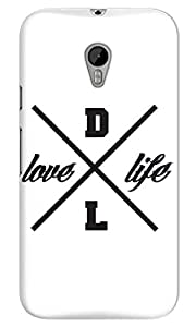 The Fappy Store dopelife-logo Hard Plastic Back CaseCover Moto G-3