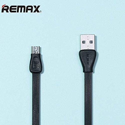 Sut Nouilles plates câble de données 100cm de style micro usb 2.1a charge Remax RC-028 martinᅵ