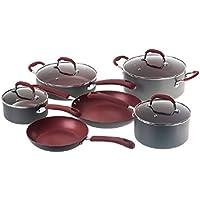 10-Pc. Bella Ceramic Cookware