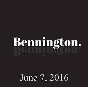 Bennington, June 7, 2016 Radio/TV Program