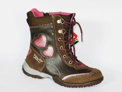 Superfit Mädchenstiefel Goretex grün, rosé glitzer jetzt kaufen