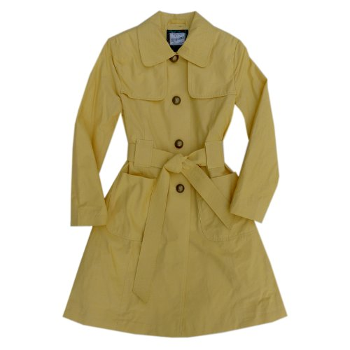 Rothschild Strawberry Fields Trench Coat 7-16, yellow Size 12