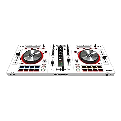 Numark Mixtrack Pro 3 Special Edition | All in One Controller Solution for Serato DJ White