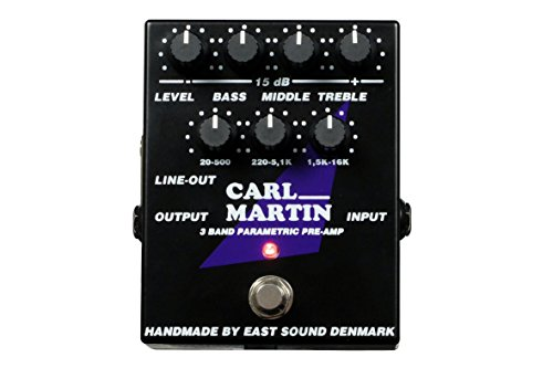 Carl Martin 3 Band Parametric Preamp