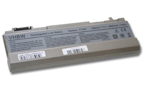 Batterie Li-Ion 6600mAh (11,1 V) pour Dell Latitude 6400 ATG, Latitude E6400, Latitude E6500, Precision M2400, Precision M4400.