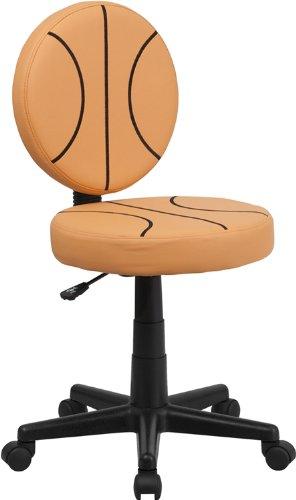 Flash Furniture Bt-6178-Basket-Gg Basketball Task Chair, Black/Orange front-978946