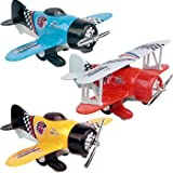 Classic Pull Back Die Cast Plane (Sold Individually - Styles Vary)