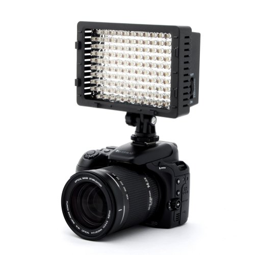 LED CN-126 Video Light for Camera or Digital Video Camcorder
