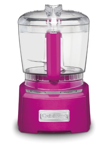 Cuisinart CH-4MP Elite Collection 4-Cup Chopper/Grinder, Metallic Pink